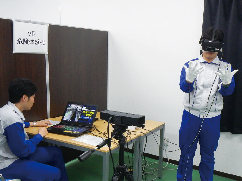 Introduce virtual reality (VR)-based accident simulator