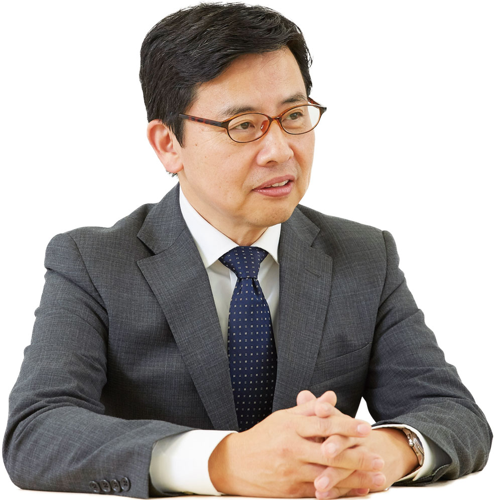 Ikuo Ishida [Executive Officer, Electronics & Innovative Products]